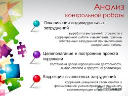 Презентация на тему Урок развивающего контроля Анисимова  7 Анализ контрольной работы