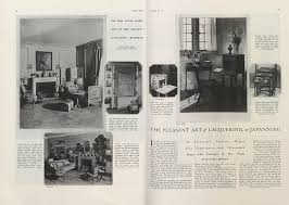 The Pleasant Art of Lacquering, or Japanning | Vogue | August 1, 1924