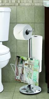 Toilet Paper Holder With Magazine Rack Amazon Better Living Products 100 Toilet Caddy Tissue 61