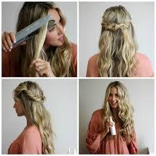 Beach Wave Hair Style cara jourdan xo styling twisted crown & beach wave hair tutorial 7828 by wearticles.com