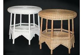 round wicker end table 2 round wicker end table outdoor wicker table and chair set round wicker end table