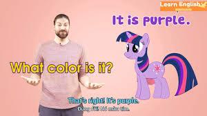 Tiếng anh lớp 1 - Bé học màu sắc tiếng Anh - cách hỏi về màu sắc bằng tiếng  Anh và cách trả lời - YouTube