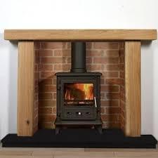 Oxford Rustic Oak Beam Fireplace | Mantel and Corbels | Pinterest ...