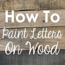 printable large letter stencils for painting