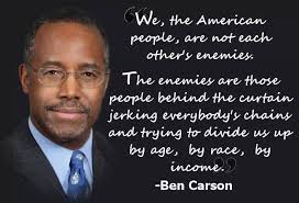Ben Carson: The American People Are Not Each Other's Enemies | The ...