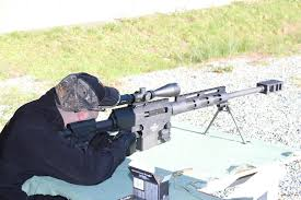 Ba Stands For Me Getting To Shoot A Big Boy Gun Bushmaster BA24 I Think BA 2