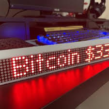 Bitcoin (btc) price prediction, based on deals analysis and statistic. Mini Crypto Coin Price Ticker Display Wi Fi Etsy