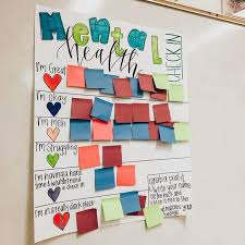 Teachers Check In Chart For Students To Share Their