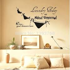 best ing laundry today or tomorrow removable vinyl life funny kitchen wall decal stickers in