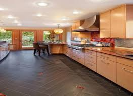 kitchen floor tiles with dark cabinets.  Tiles Kitchen Floor Tiles With Dark Cabinets Travertine Tile In Cabinets