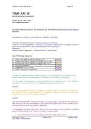 Sample Partnership Agreement Form Download Partnership Agreement Amendment Style 6 Template