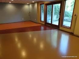 colored concrete floors. Showing Our True Colors » Colored Epoxy Basement Concrete Floor \u2013 Fort Wayne Dancer (9) Floors