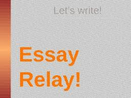 expository essay relay game by painterland teachers pay teachers expository essay relay game