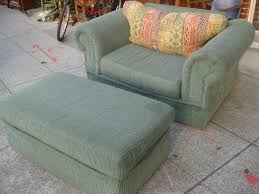 image of oversized chairs with ottoman image