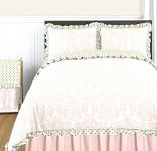 blush pink gold and white collection window valance by sweet designs only twin bedding toddler set pink and gold bedding