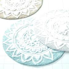 Oval Bath Mat Round Bathroom Rugs Circle In Inspirations Cotton Walmart