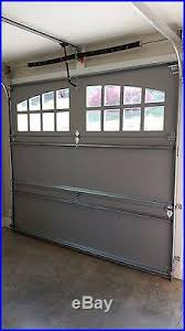 8x7 garage doorOver Head Doors  8 x 7 Spruce Charleston Design Sectional