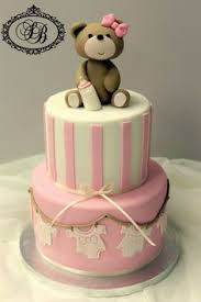 made fresh daily quilted pink and white baby shower cake girl baby Baby Girl Cakes cute baby shower girl cake would even look neat to just make the bear out baby girl cakes for shower