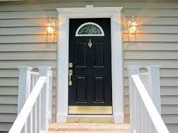 black front doorblackfrontdoorjpg  Angies List