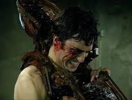 jigsaw saw wallpaper. movie - saw ii horror creepy spooky scary blood evil wallpaper jigsaw
