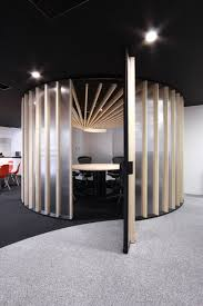 elegant office conference room design wooden. Aiming At A Sophisticated And Elegant Look, The Team Bakoko Came Up With Unique Design For Meeting Nook Created CDS Offices In Tokyo. Office Conference Room Wooden F