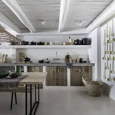 Rustic Kitchen Inspiring White Rustic Kitchen Bodie And Fou Design Interiors