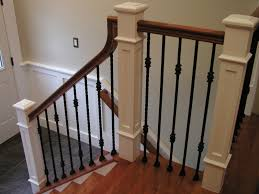 Image of: Spindle Stairs And Railing
