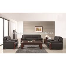 China Comfortable leather executive office sofa for visitor on