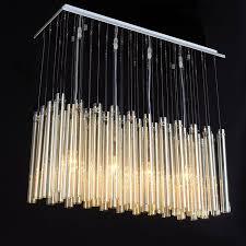 modern glass lighting. Modern Glass Tubes Pendant Lighting In Chrome Finish 10535 ,