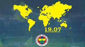 Fenerbahçe Camiası 19.07 Dünya Fenerbahçeliler Günü'nü Kutluyor! -  onedio.com