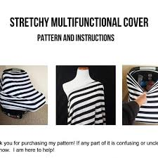 nursing cover and car seat cover sewing