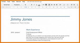 Resume Templates Google Drive 13570 Densatilorg