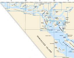 Nautical Charts For North Vancouver Island British Columbia