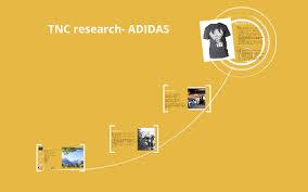 Tncs Charts Tnc Research Adidas By Prezi User On Prezi