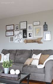 Decorated Walls Living Rooms Decoration