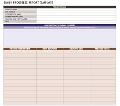 Daily Status Report Template Excel Magdalene Project Org