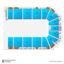 Hartman Arena 2019 Seating Chart