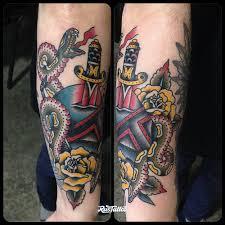 кинжал значение татуировок в россии Rustattooru