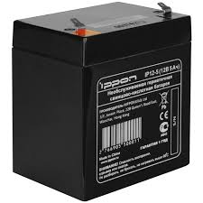 Купить аккумуляторную <b>батарею Батарея Ippon IP12</b>-<b>5</b> 12V/5AH в ...