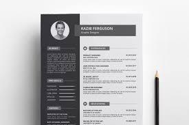Modern Looking Resume Template Modern Resume Template Design