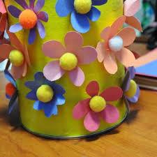 Paper Flower Pots Adorable Flower Pot Crafts For Kids Easy Crafts For Kids