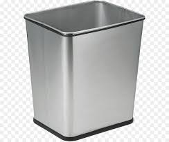 waste container recycling bin bin bag stainless steel trash can png