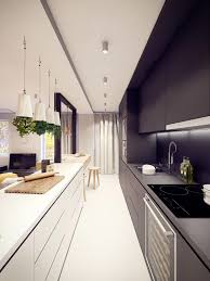 Small galley kitchen White 49 Interior Design Ideas 50 Gorgeous Galley Kitchens And Tips You Can Use From Them