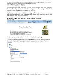Html web designing 1