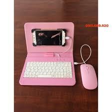 bao da bàn phím có chuột cho điện thoại, máy tính bảng từ 4.5-8 inch-giá  siêu rẻ bằng sỉ