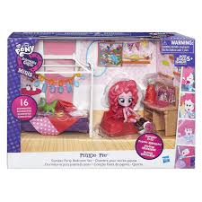 Pony Bedroom Accessories My Little Pony Equestria Girls Minis Pinkie Pie Slumber Party