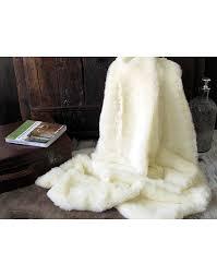 faux fur throws cream polar bear faux fur throw faux fur throws loading zoom