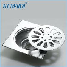 shower drain cover household floor drain linear shower bathroom shower drain cover stainless steel kitchen filter strainer drain shower drain cover plate uk