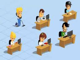 Cartoon Office Office Workers Animation Youtube