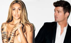 robin thicke and paula patton young love. Exellent Paula Los Angeles Ru0026B Star Robin Thicke Has Reportedly Moved On From His Failed  Marriage To Actress Paula Patton By Dating A Young Model To And Young Love